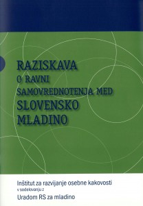 Raziskava o ravni samovrednotenja med slovensko mladino